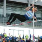 Hombre salto pértiga (atletismo)