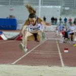 Mujer salto longitud (atletismo)