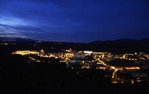 Fotografía Béjar de noche