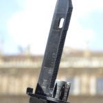 Fotografía detalle fusil