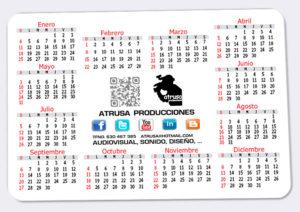 Calendario cartel