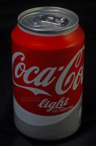 Fotografía publicitaria: lata Coca Cola