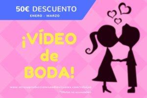 Rebajas VÍDEO BODA en Atrusa Producciones Audiovisuales