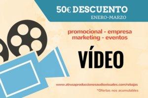 Rebajas VÍDEO en Atrusa Producciones Audiovisuales