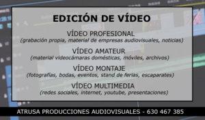 Edición de vídeo en Salamanca