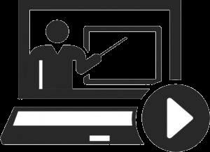 Gráfico enseñanza online