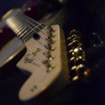 Fotografía Trastes de guitarra eléctrica