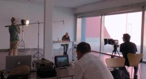 Equipo técnico grabación película