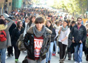 Fotografía Huelga 14N en Salamanca