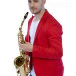 Fotografía book: saxofonista