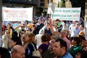 Fotografía Manifestación de las Arribes