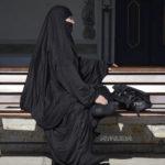 Fotografía Mujer con burka en Estambul