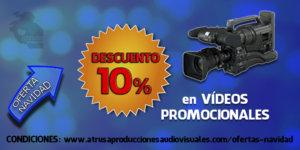 OFERTA NAVIDAD 10% vídeos promocionales