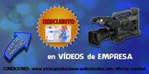 OFERTA NAVIDAD 30e vídeos empresa