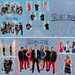 Diseño Tríptico Orquesta Factory Show