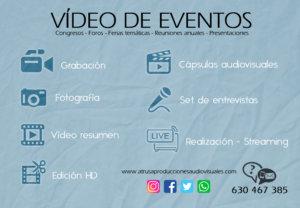 INFOGRAFÍA SERVICIOS VÍDEO DE EVENTOS
