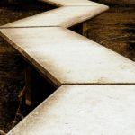 Fotografía Camino en zigzag