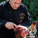 Fotografía de eventos: cortador de jamón