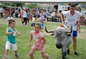 Fotografía de eventos: encierro infantil