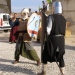 Fotografía Representación lucha medieval
