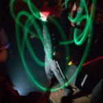 Fotografía Espectáculo de malabares de luz